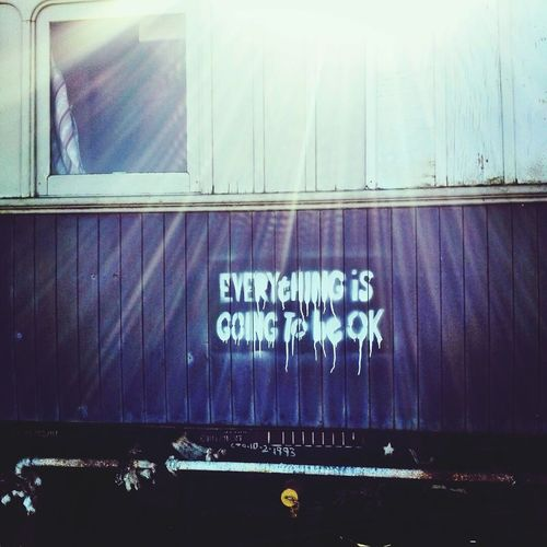 Oldtrain Graffiti Untold Stories Creepy Everything Is Going To Be Okay