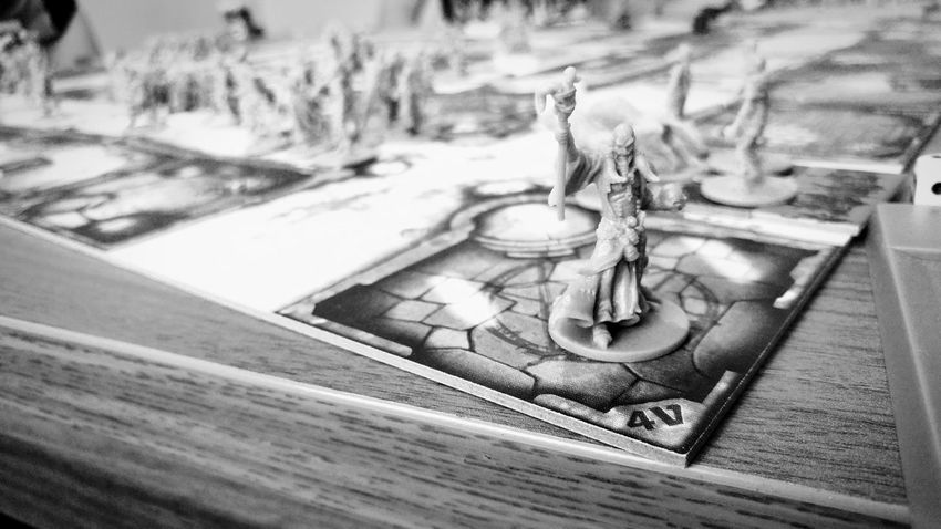 Table Games LG G5 Photography Key Game Time! Zombieapocalypse Zombie Time Board Games Blackandwhite Black & White Black And White No People High Angle View Close-up Indoors  Day