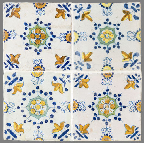 16th Century 17th Century 18th Century Backgrounds Close-up Day Full Frame Historic No People Tile