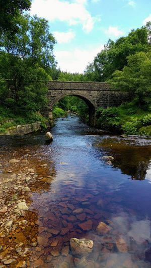Water Tree Outdoors Day Nature Sky Landscape Stream Bridge Stone Langsett Breathing Space Lost In The Landscape