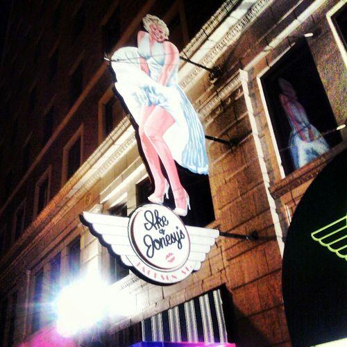 Norma Jean Indianapolis  Marilyn Monroe Neon