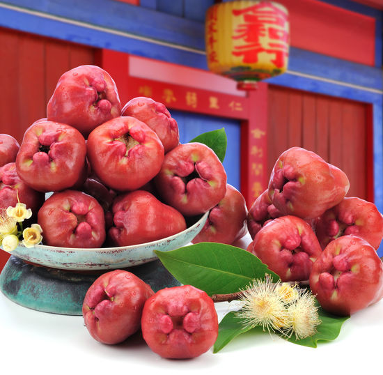 Abundant Agricultural Products Crop  Delicious Eat Food Food And Drink Fresh Fresh Fruits Fruit Full Indoor Plant Fruit Red Taiwan Taiwan Fruit Wax Apple