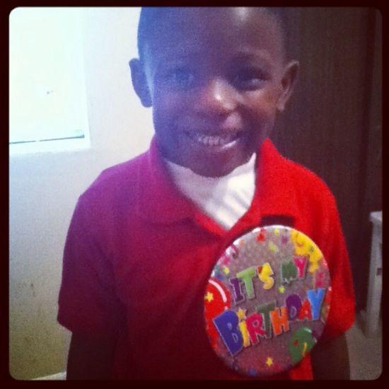 It's his birthday !!!
