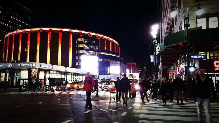 New York Newyork New York City Newyorkcity The Best Of New York Newyorker I Heart New York Newyorkstate Newyorklife New York ❤ I Love New York Manhattan Madisonsquaregarden Madison Square Garden Herald Square City City Life City Lights Night Nightphotography Night Photography Nightlife Night View Light Lights