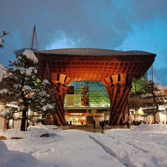 Kanagawa Train Station, 🇯🇵 traditional city Trainstation Winter Snow Cold Temperature Outdoors Built Structure Architecture Travel Destinations