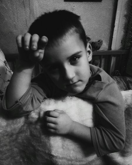 Looking At Camera One Person Portrait Real People Young Adult Childrenphoto Mybrother Boys Don't Cry Dramatic Sad Face MyBoy Notfunny Black & White