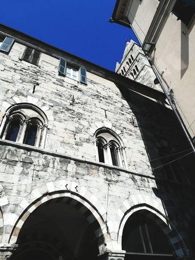 Genova IT Italy Italia Genova Genoa City History Arch Clear Sky Architecture Building Exterior Sky Built Structure Historic Building