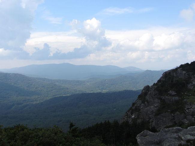 Grandfather Mountain, North Carolina North Carolina Beauty In Nature Blueridgemountains Blueridgeparkway Day Greenery Landscape Mountain Mountain Range Nature No People Outdoors Sky High