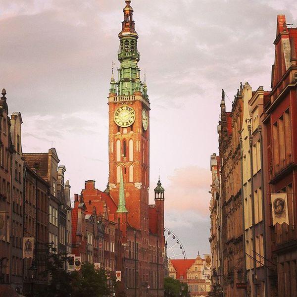 Gdansk Staremiasto Oldtown Ratusz kołowidokowegdańsk GalosikFotografę