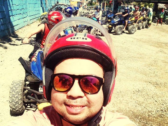 ATV this morning with the Elbiwreckingcrew. Summer2014 BoracayIsland