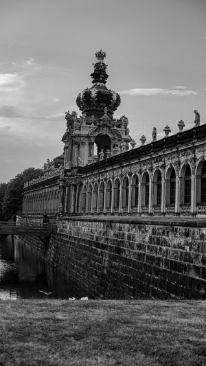 Blackandwhite Dresden / Germany Zwinger Dresden Zwinger Built Structure Sky Architecture Building Exterior Nature History The Past Travel Building