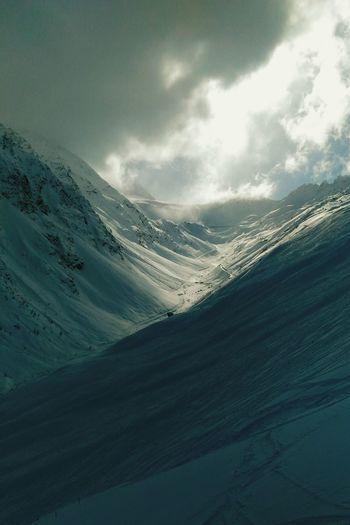 Austria Soelden ötztal Tirol  Tyrol Tyrol-Austria Mountains Alps Alpen Alpes Ski Sun Snow Snow ❄ Sunset 2016