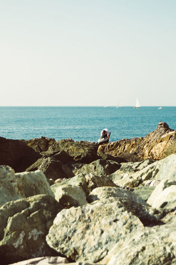 Boccadasse Sea