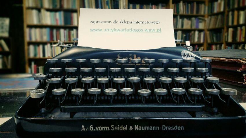 Warszawa  Warsaw Poland Antykwariat Antiqe  Typewriter Samsungphotography My Smartphone Life Oldschool WarsawCity
