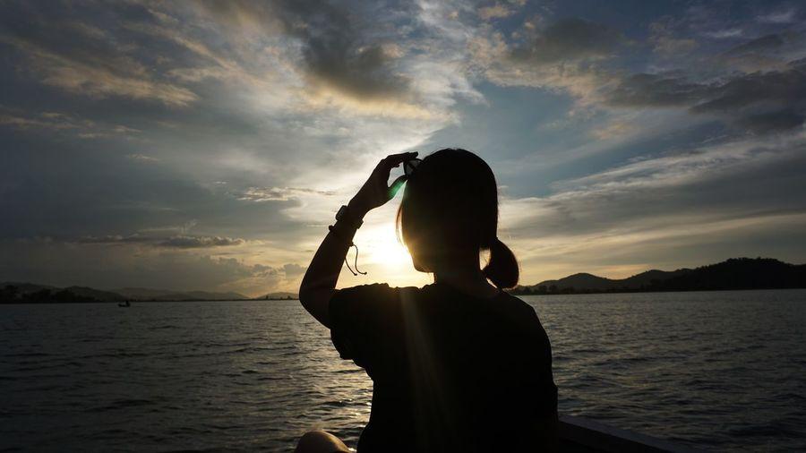 Vân hoạ Sunset