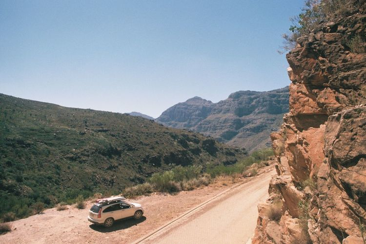 Out of the ocean and into the mountains; the west coast of South Africa into the Cederberg Mountains. Day Landscape Mountain Nature No People Outdoors Roadtrip Surf SUV Travel Traveling