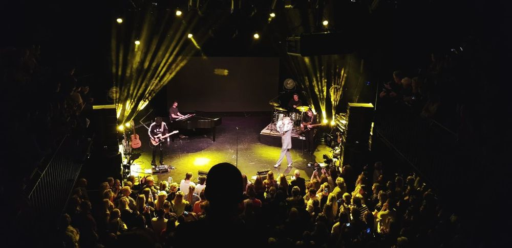 Popular Music Concert Crowd Musician Audience Nightlife Performance Party - Social Event Music Men Arts Culture And Entertainment