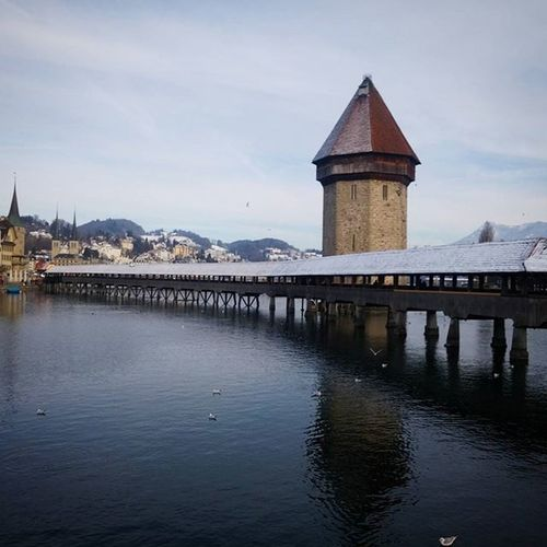 Looks like something from a fairytale 🗻🏰 Lucerne Contiki Switzerland