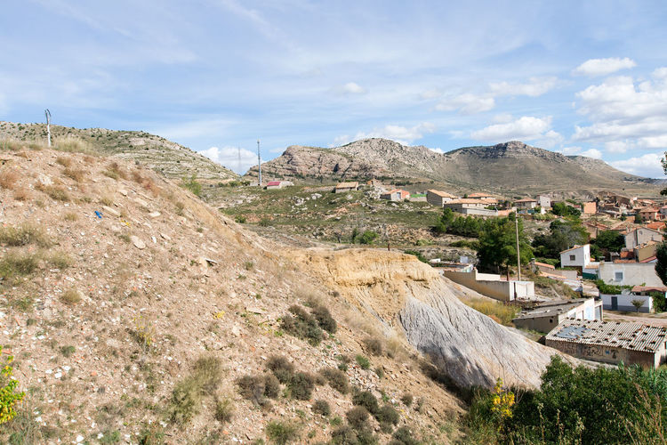 Utrillas Terual Moseo minerio y alrededores. Octubre 2018 2018 October Teruel Utrillas Architecture Beauty In Nature Building Building Exterior Built Structure Cloud - Sky Day Eddl Environment High Angle View Land Landscape Mountain Mountain Range Nature No People Outdoors Plant Scenics - Nature Sky TOWNSCAPE Tree