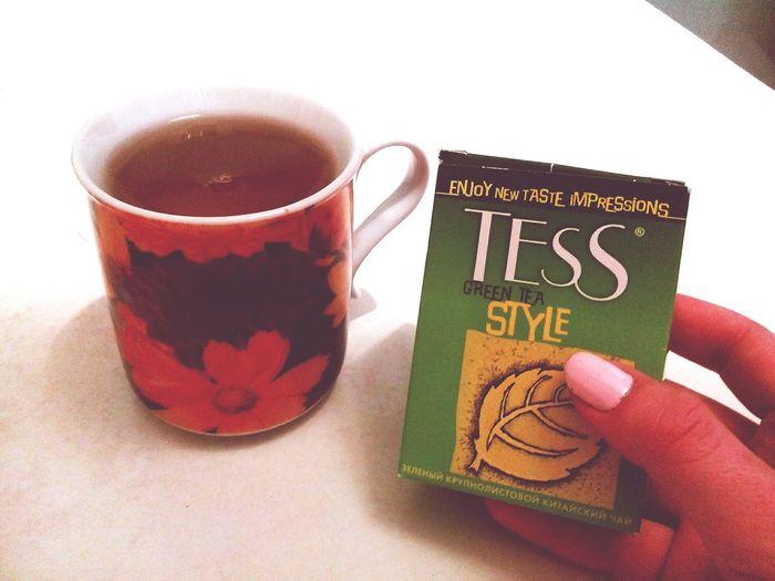 Люблю зеленый чай