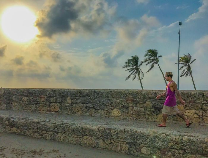 Murallas de Cartagena, Colombia Beach Lifestyles Day Colombia Walking Around First Eyeem Photo