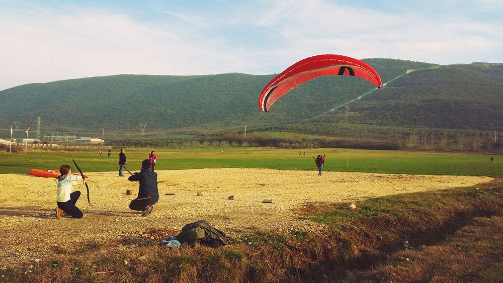 Paragliding YamaçParaşütü Bursa Gölyazı Parachute