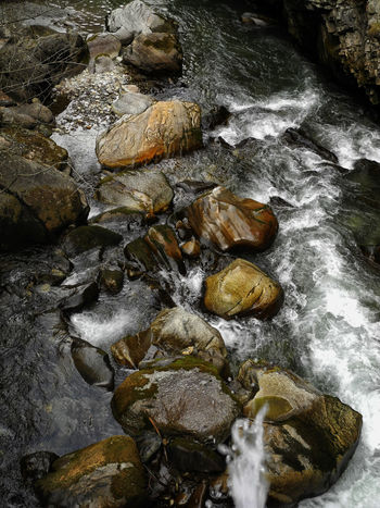 Orrido, Pré Saint Didier, Aosta Valley Nature No People Outdoors River Rock - Object Water