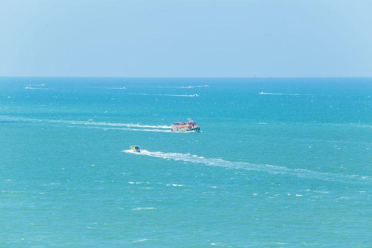 Speedboat at