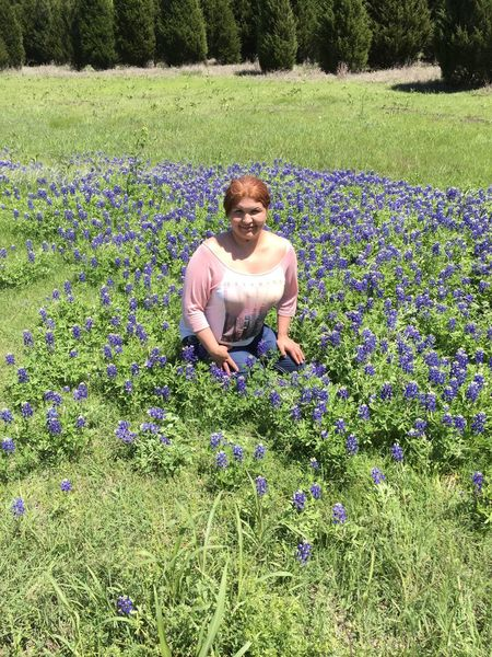 Texas Bluebonnet Happysunday At The Park Having Fun :) Just Me ♡