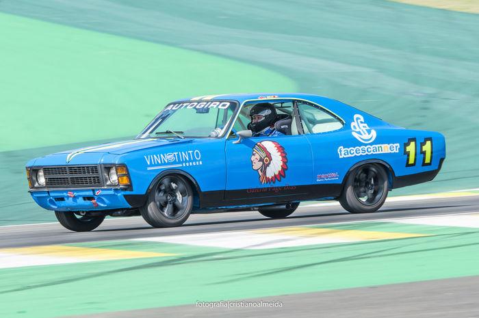Blue Car Carro De Corrida Land Vehicle Motion Motor Vehicle Opala Racecar Racing Car Speed Ss Transportation