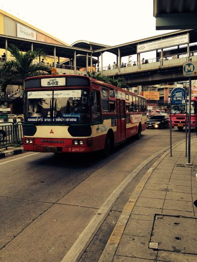 Free Public bus in Bangkok. There are just some for free. Transportation Mode Of Transport Public Transportation Land Vehicle City Travel Local Bus Bangkok Thailand.