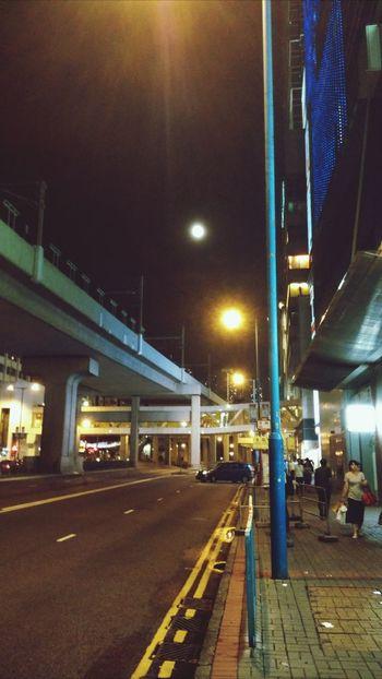 Hong Kong Mid Autumn Festival Moon Light Street Photography