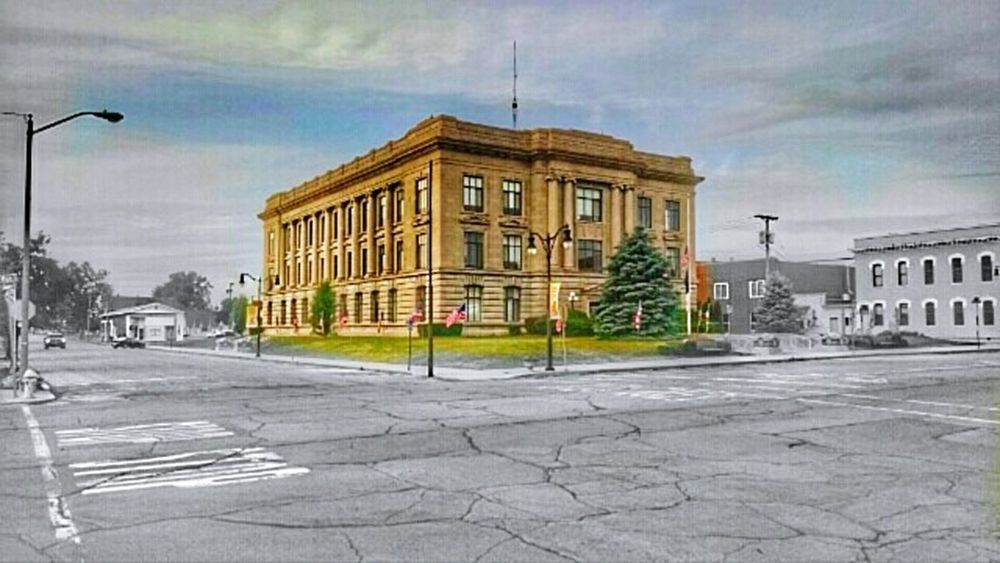 Jay County Courthouse, Portland ,Indiana