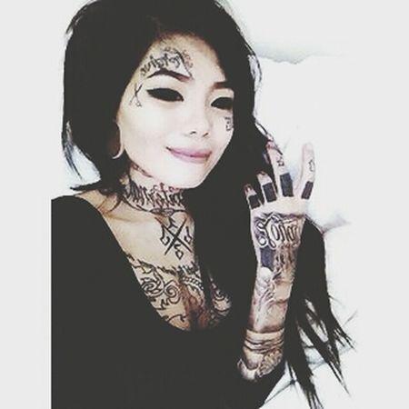 Self Portrait That's Me Tattoo Plugs