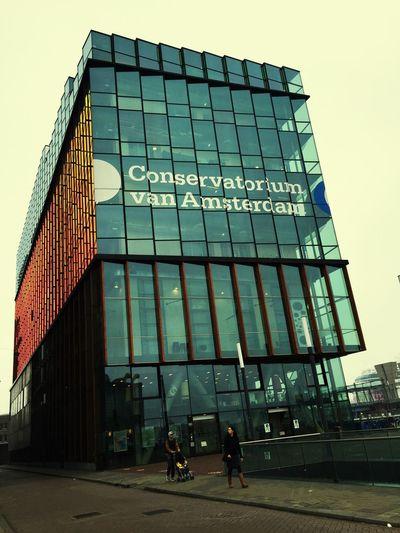 I Amsterdam Architecture Bad Weather Good Mood