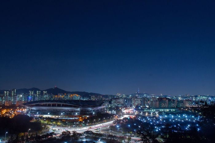 My Favorite Place Football Soccor Night View Woldcup Battle Of The Cities Seoul, Korea Seoul Overnight Success