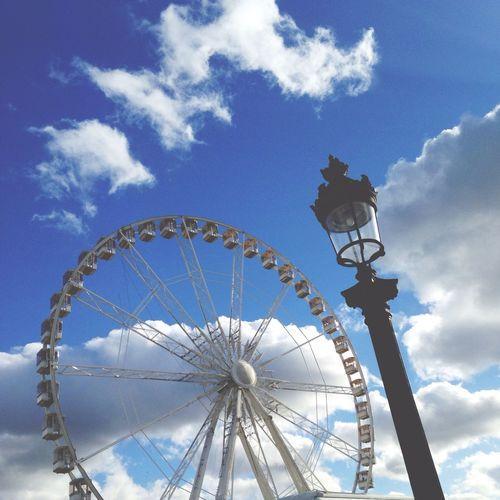 Paris Travel Sky Pariserhjul