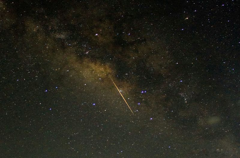 Lyrid Meteor, Pangasinan Philippines Star - Space Astronomy Galaxy Night Space No People Constellation Milky Way Space Exploration Nature Astrophotography Beauty In Nature Lyrid Meteor Shower 2017 EyeEmNewHere