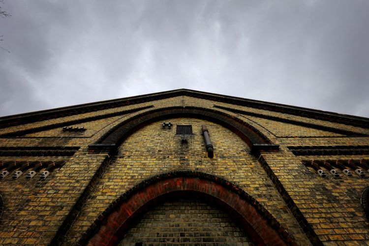 Crossness Pumping Station Built Structure Architecture Building Exterior Sky Cloud - Sky Low Angle View Arch