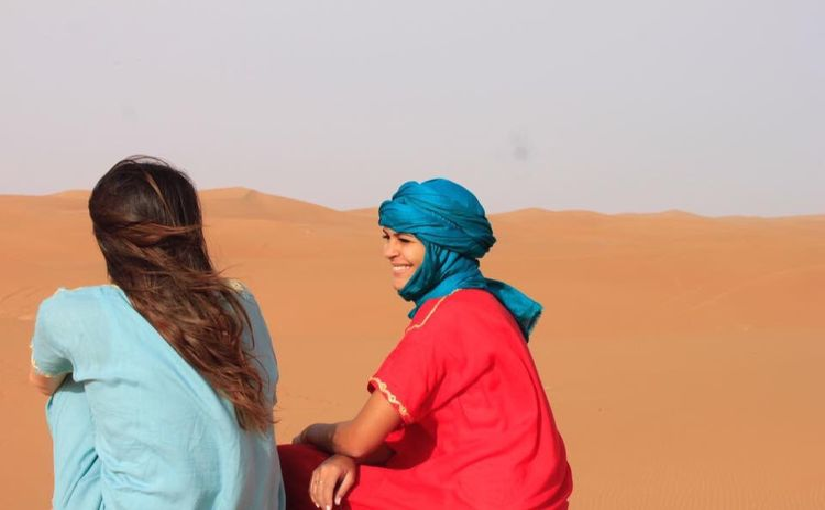 The Portraitist - 2017 EyeEm Awards People Outdoors Sand Dune Sky Sahara Desert Morocco Ergchigaga Merzouga Desert Beauty Desert Life Wilderness Outsideculture