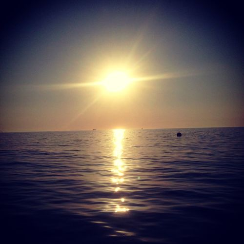 Deniz Gunbatimi Sea Sunset