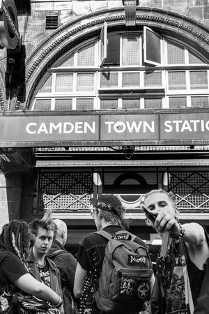 Make my day.... Blackandwhite Camden Cultures EyeEm Best Shots Fashion London Punks Street Photography Streetphoto_bw Streetphotography The EyeEm Facebook Cover Challenge B&w Street Photography
