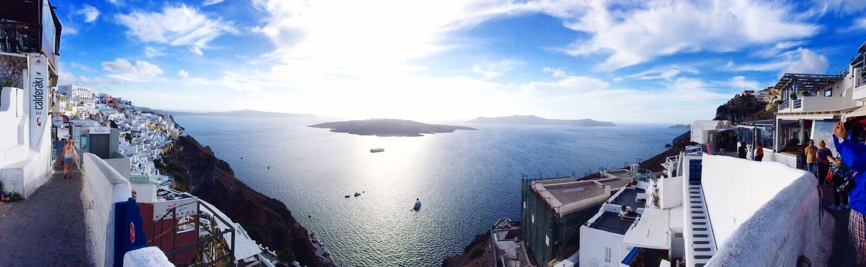 Santorini Greece Santorini Island Panoramas Panoramas Of Santorini
