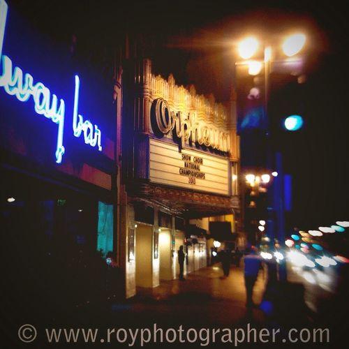 Street photography Losangeles California Night Nightphotography Night Lights Nightlife Night Photography Dowtown USA