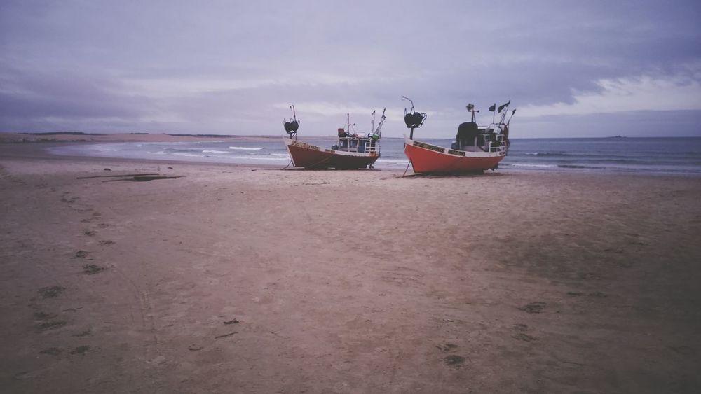 Sea Sand Boats⛵️ Amazing Nature Nature Photography Beautiful Nature Cabo Polonio - Uruguay