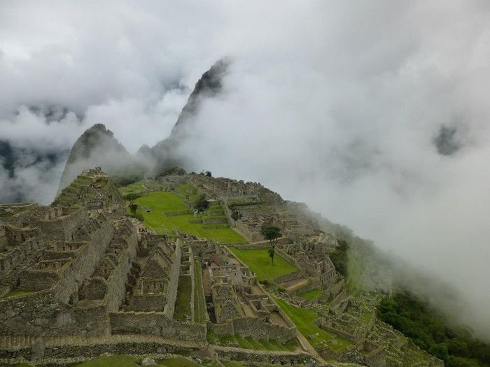 History Cloud - Sky Landscape Machu Picchu Travel Destinations Ancient Mountain Tranquil Scene Outdoors Beauty In Nature Ruins Old City