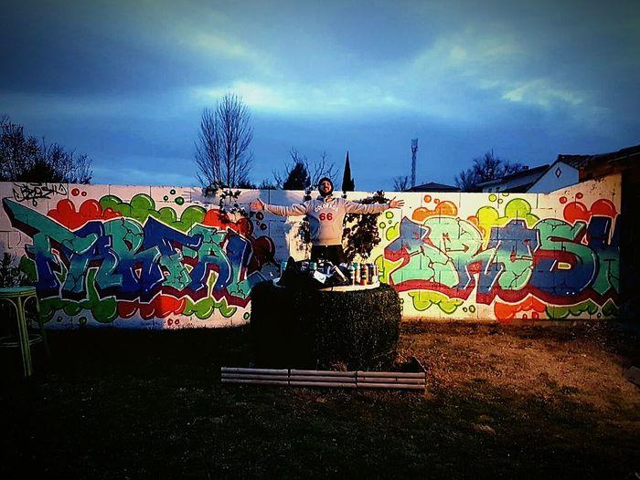 Multi Colored France 🇫🇷 Toulouse Huaweip9photos HuaweiP9 2017 Streetart Drawing Eightballstore Handmade Farfal Creativity Graff Graffiti Art Wall Graffitiwall Lifestyles Brosh @yoyone...photo by fs313