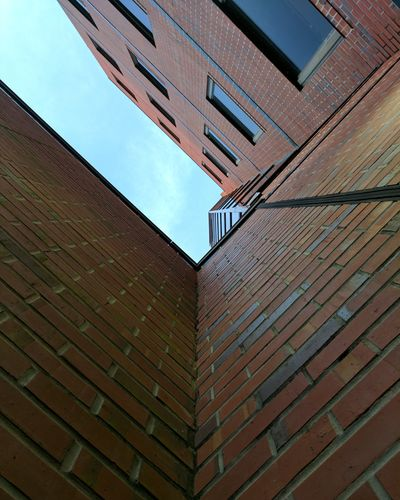 Architecture Building Exterior Outdoors Built Structure Brick Wall Low Angle View Day No People City Modern Sky USA Downtown District Urban Skyline Florida Gainesville Fl