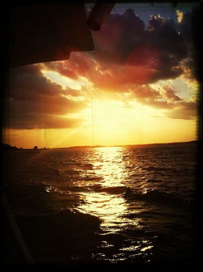 Take me back to these sunsets. ☀