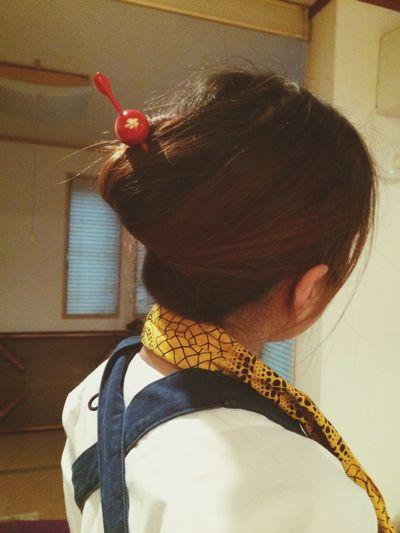 Matsuri Kanzashi Hairstyle